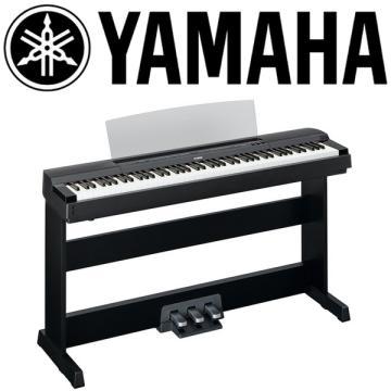 YAMAHA 數位鋼琴(P-255BK)