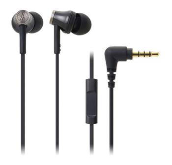 鐵三角 CK330iS耳塞式耳機-黑(ATH-CK330iS BK)