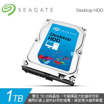 Seagate Desktop HDD 1TB 7200rpm(ST1000DM003-3Y/P)
