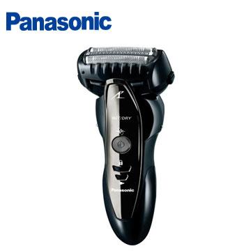 [福利品] Panasonic 三刀頭刮鬍刀(黑)