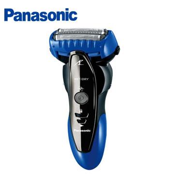 [福利品] Panasonic 三刀頭刮鬍刀(藍)