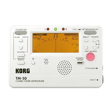 KORG 調音節拍器(TM-50WH(白))