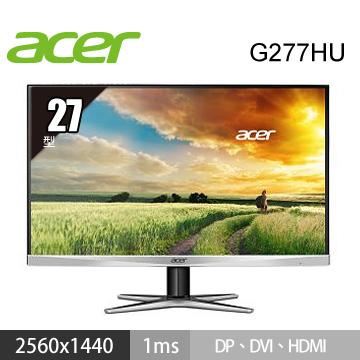 【福利品】【27型】ACER G277HU LED(G277HU)
