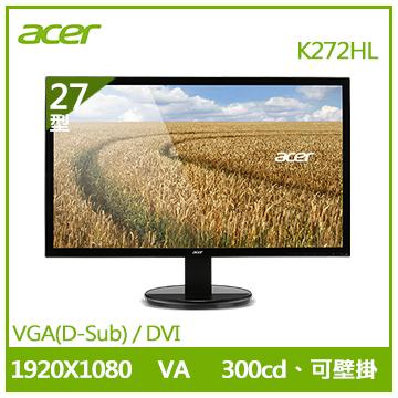 【福利品】【27型】ACER K272HL VA