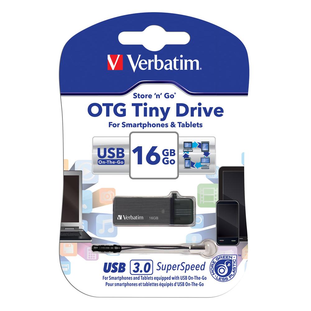 【16G】威寶Verbatim OTG Titanium 隨身碟(64496)