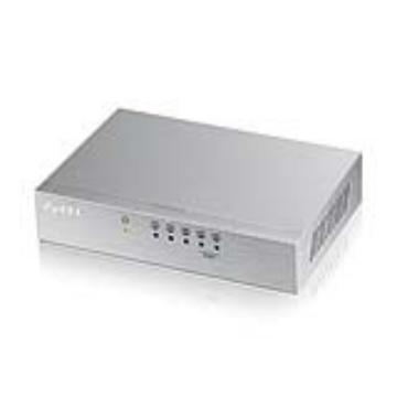 ZyXEL 5埠 桌上型高速乙太網路交換器(ES-105A V2)
