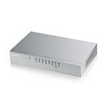 ZyXEL 8埠 桌上型高速乙太網路交換器(ES-108A V2)