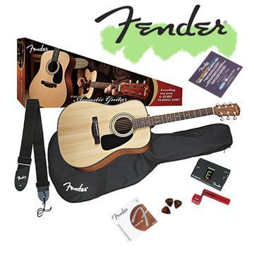FENDER 最暢銷面單民謠吉他(DG8S)