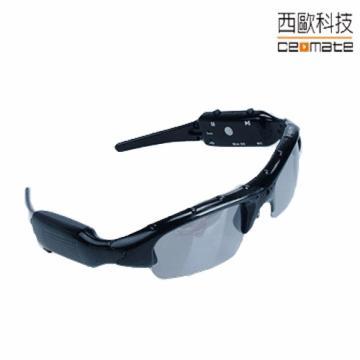 西歐科技 太陽眼鏡造型 多功能錄影機(P2000)