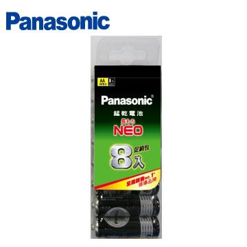 國際牌碳鋅3號電池8入促銷包(R6NNT/8SW-P)