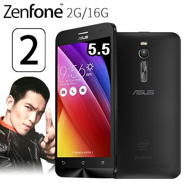 華碩ZenFone2 5.5吋多核4GLTE手機2G/16G-黑(ZenFone2 5.5吋-黑(送膜))