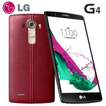 LG G4 5.5吋六核4G LTE旗艦機(3G/32G)-紅(G4-紅 (送膜))