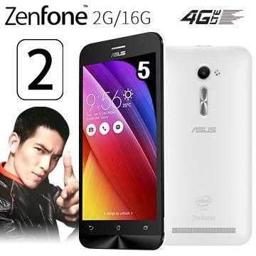 華碩ZenFone2 5吋多核4G LTE手機2G/16G-白(ZenFone2 5吋-白(送膜))