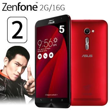 華碩ZenFone2 5吋多核4G LTE手機2G/16G-紅(ZenFone2 5吋-紅(送膜))