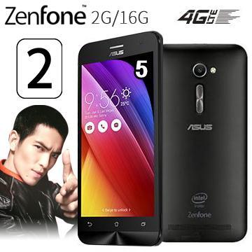 華碩ZenFone2 5吋多核4G LTE手機2G/16G-黑(ZenFone2 5吋-黑(送膜))