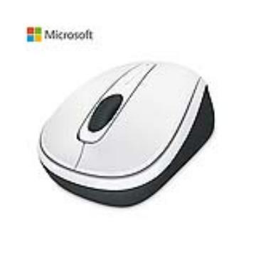 Microsoft 無線行動滑鼠3500-白(GMF-00216)