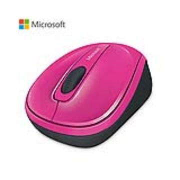 Microsoft 無線行動滑鼠3500-粉(GMF-00280)