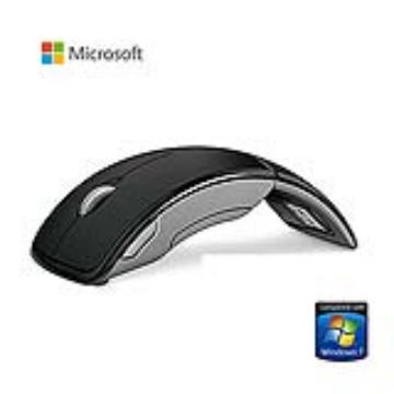 Microsoft Arc 滑鼠-黑色(ZJA-00012)