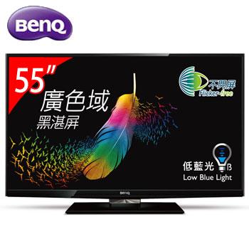 [福利品] BenQ 55型 LED不閃屏顯示器