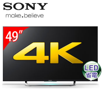 【福利品】SONY 49型4K LED智慧型液晶電視