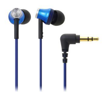 鐵三角 CK330M耳塞式耳機-藍(ATH-CK330M BL)