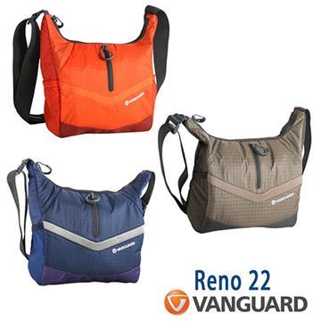VANGUARD 精嘉 Reno  22 攝影側背包(藍)
