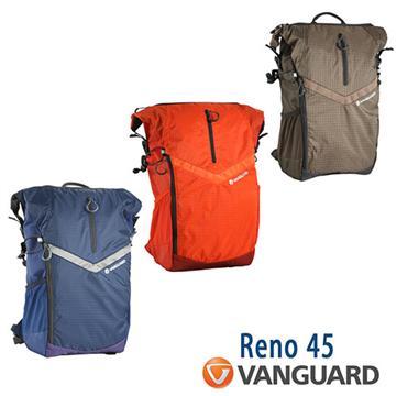 VANGUARD 精嘉 Reno 45 攝影雙肩包(藍)