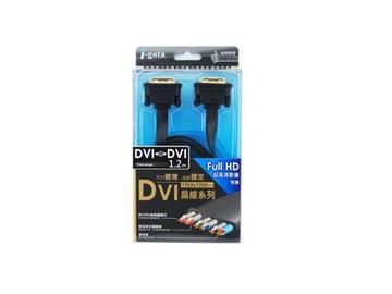i-gota DVI-DVI數位傳輸扁線 1.2米(FDVI2424PP012P)