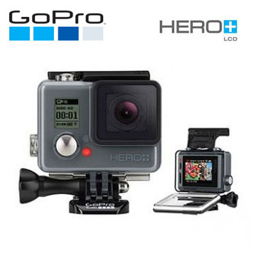 GoPro HERO+LCD 運動攝影機-入門升級版(CHDHB-101-CT)