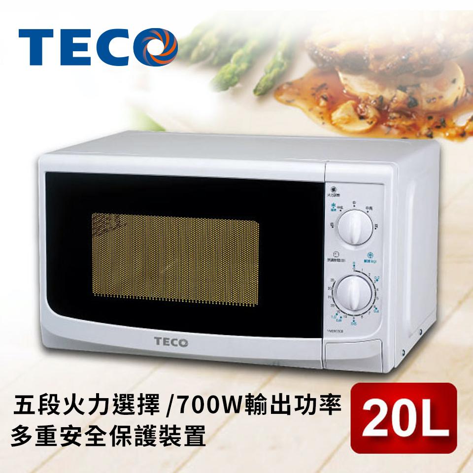 東元20公升微電腦微波爐(YM2003CB)
