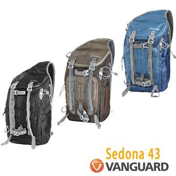 VANGUARD 精嘉 Sedona 43 攝影單肩包(藍)