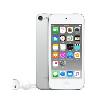 Apple iPod Touch 32GB 第六代 (銀色)(台灣公司貨)(MKHX2TA/A)【贈專用充電器+多功能電子觸控筆】