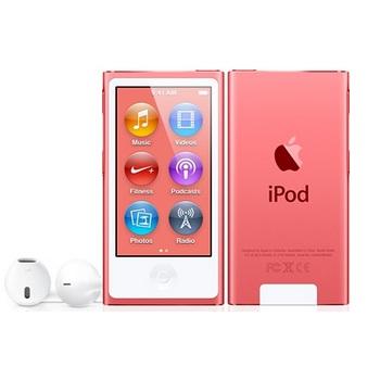 【16G】iPod nano 粉紅色 (7TH)(MKMV2TA/A)