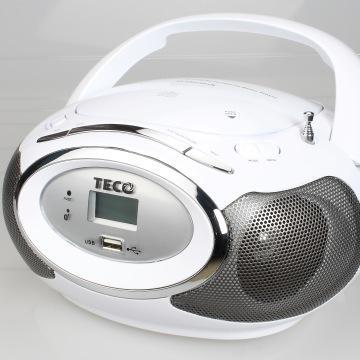TECO 藍牙手提CD音響(XYFSC301B)