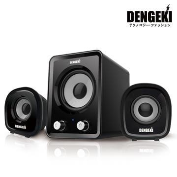 DENGEKI 2.1聲道USB多媒體喇叭(SK-827)