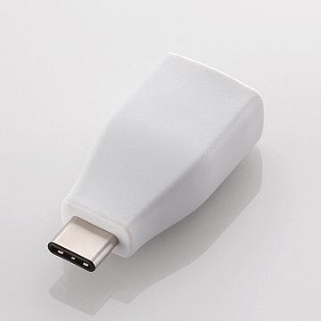 ELECOM USB3.1Type-C轉USB母轉接頭-白(USB3-AFCMADWH)