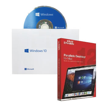 【會員特典限定】Windows 10 中文家用隨機版 64Bit DVD + Parallels Desktop 12 for Mac(C-Win10 HP 64B/D)