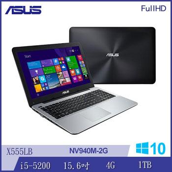 ASUS X555LB Ci5 NV940 獨顯筆電(X555LB-0171A5200U棕)