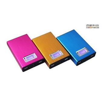 西歐科技12000mAh 雙USB行動電源-粉紅(CME-PB061)