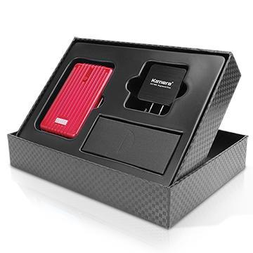 【9000mAh】Kamera T9000 行動電源禮盒組-紅(T9000+SP-EX)