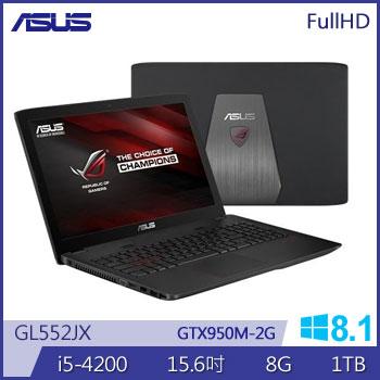 華碩 4代i5 2G獨顯電競筆電(GL552JX-0081A4200H)