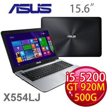華碩5代i5 獨顯筆電(X554LJ-0057K5200U)
