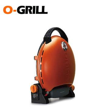 O-Grill美式時尚可攜式瓦斯烤肉爐(經典橘)(O-Grill 3000T)