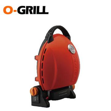 O-Grill美式時尚可攜式瓦斯烤肉爐(經典橘)