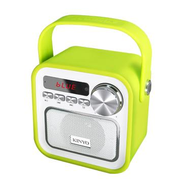 KINYO 藍牙/USB/SD隨身音響