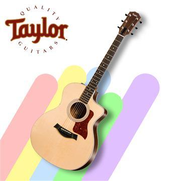 Taylor 泰勒 200系列民謠電木吉他含原廠袋(214ce)