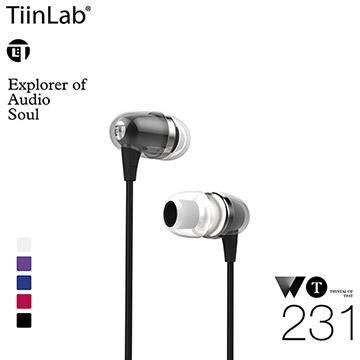 TiinLab WT耳語系列WT231耳機-黑(WT231-BLACK)