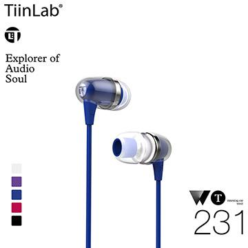 TiinLab WT耳語系列WT231耳機-藍(WT231-BLUE)