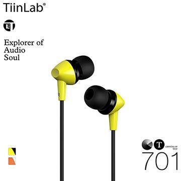 TiinLab CT水晶系列CT701耳機-黃(CT701-YELLOW)