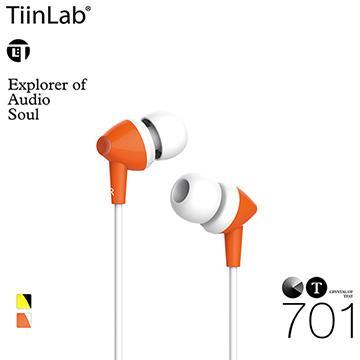 TiinLab CT水晶系列CT701耳機-橘(CT701-ORANGE)